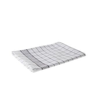 Cosy & Trendy For Professionals Keukenhanddoek Set6 Grove Ruit Grijs-wit100 Katoen 72x50cm-72gr