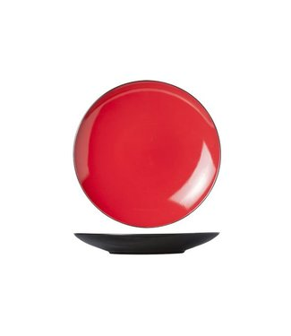 Cosy & Trendy Finesse Red Plat Bord D28cm