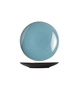 Cosy & Trendy Finesse Blue Dinner Plate D28cm (set of 4)