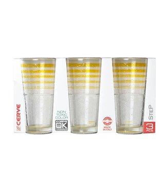 Cerve Ice Okj Lemon - Longdrink Glazen - (Set van 6)