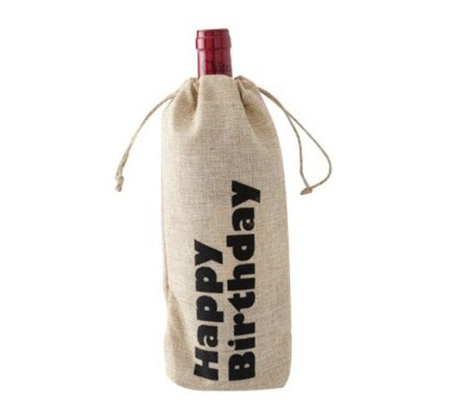 Cosy & Trendy Wine Bag Happy Birthday 15xh30cm (12er Set)