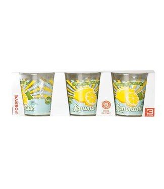 Cerve Nadia Bio Vintage - Limonade Glazen - 25cl - (set van 12)