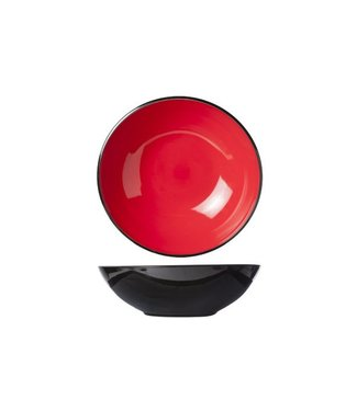 Cosy & Trendy Finesse Red Salad Bowl D33xh10cm