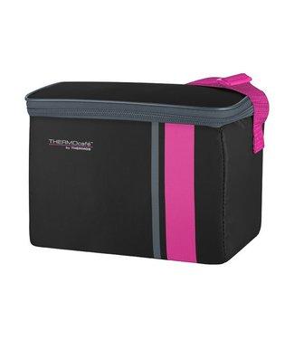 Thermos Neo Kühltasche 4,5l Schwarz-pink 23x14xh16cm - 3uur Kalt
