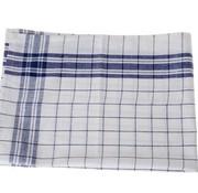 Cosy & Trendy For Professionals Keukenhanddoek Set6 Grove Ruit Blauw-wit100 Katoen 70x50cm-70gr M² (set of 6)