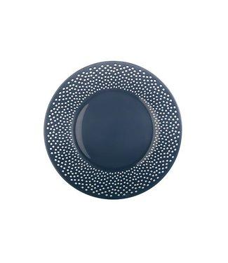 Luminarc Bulla - Dinerborden - 28cm - Blauw - Glas - (set van 6)