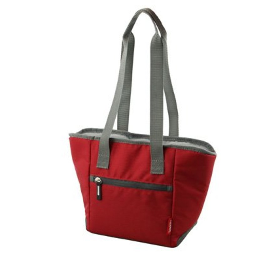 Urban Isolerende Shopping Bag Rood 5l30x12xh20cm - 6can