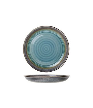 Cosy & Trendy Divino - Dinner plate - Blue - D26.5cm - Ceramic - (set of 6).