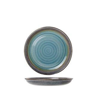 Cosy & Trendy Divino - Teller - Blau - D26,5 cm - Keramik - (6er-Set).