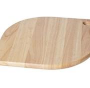 CT Cutting Board Wood Rhomb 32x24x1,5cmwith 2 Small Holes (12er Set)