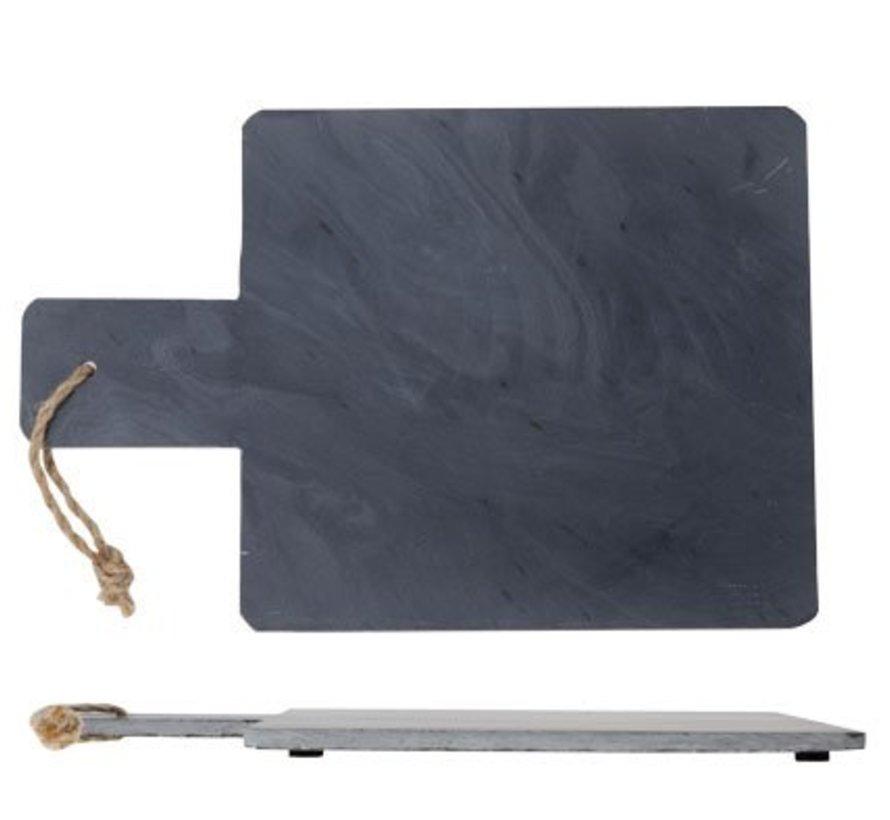 Stick Slate Tray Rectangle 30x20xh1cm