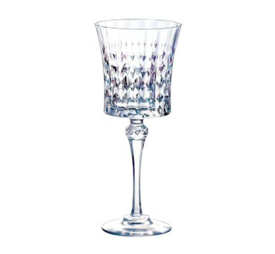 Lady Diamond Wijnglas 19cl Set6