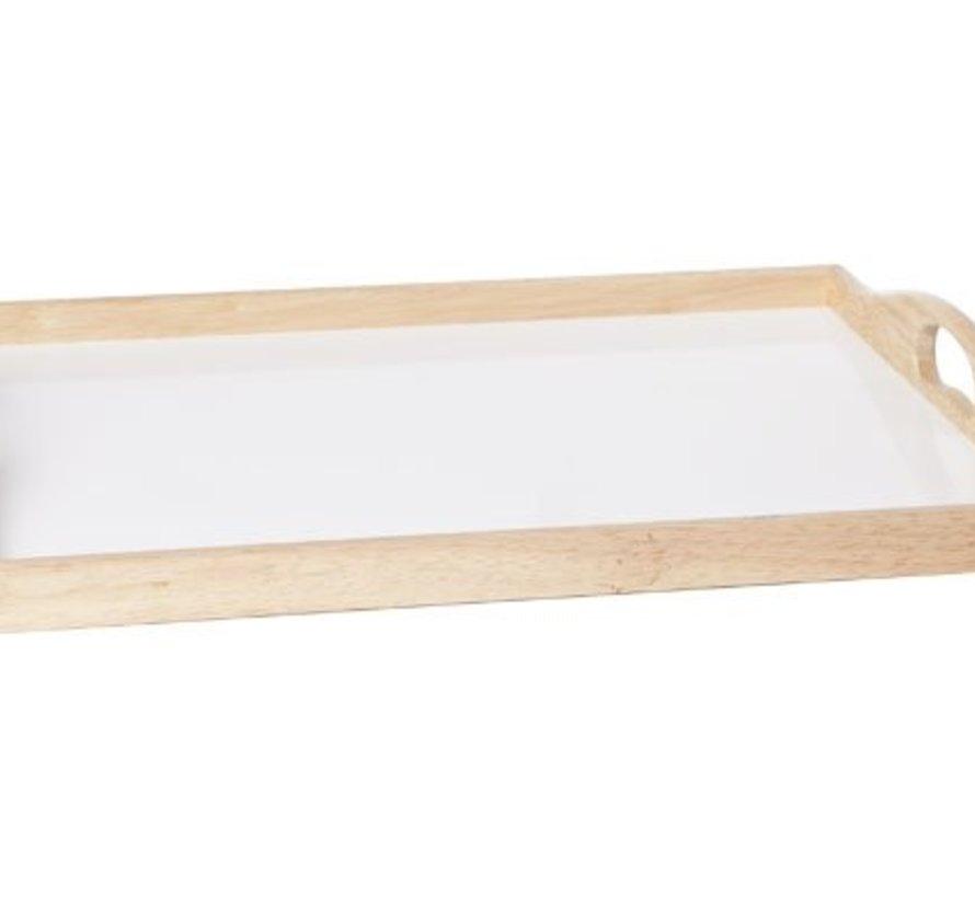 Dienblad Binnen Wit Mdf 43x33xh5cm