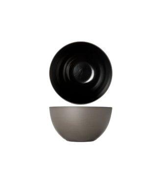 Cosy & Trendy 1350 Black Salad Bowl D24xh13cm (set of 4)