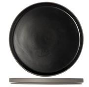 Cosy & Trendy 1350 Black Dessert Bord D22xh2cm (set van 4)