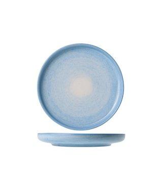 Cosy & Trendy Destino Licht Blauw Broodbordje Aardewerk -  D15.5cm (set van 6)
