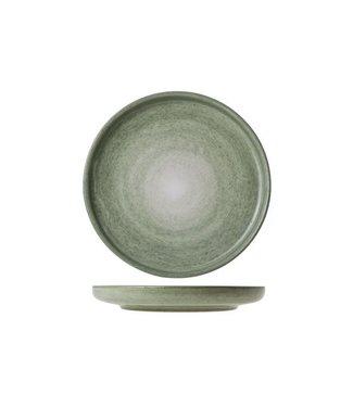 Cosy & Trendy Destino Licht Groen Broodbordje Aardewerk -  D15.5cm (set van 6)