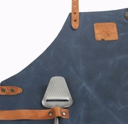 Boska Mr Smith Apron Leather Blue