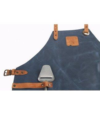 Boska Mr Smith Apron Leather Blue