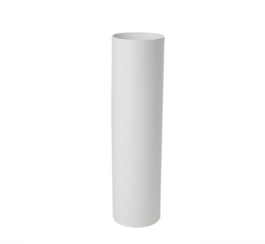 Palissandro White Cylindervaas D7.5xh27