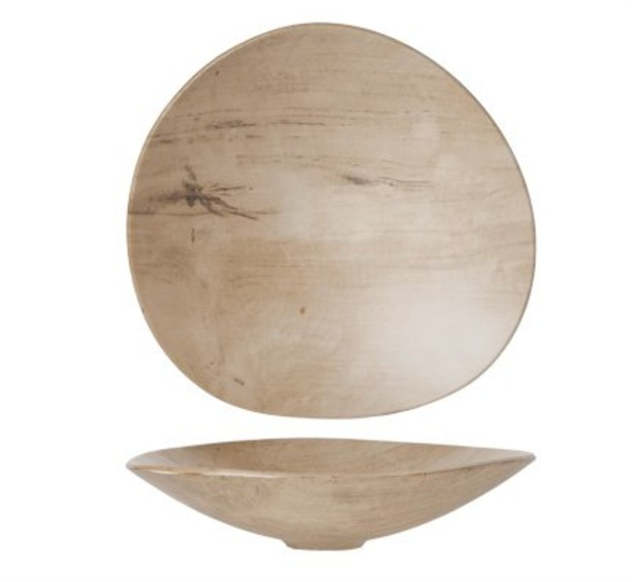 Palissandro Schaal 29.5x28xh6.5cm