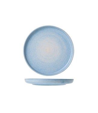 Cosy & Trendy Destino L.blue Piatto da Dessert D19.5cm - Ceramica - (Set di 6)