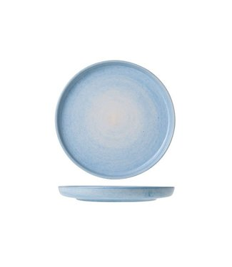 Cosy & Trendy Destino Licht Blauw Dessertborden  D19.5cm  - Aardewerk - (Set van 6)