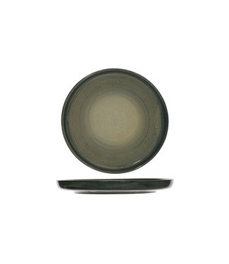 Cosy & Trendy Destino - Grün - Brotteller - Keramik - D15.5cm - (6er Set)