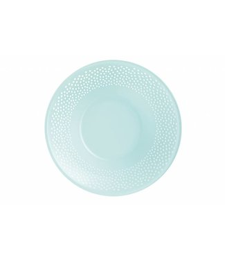 Luminarc Bulla - Dessertborden - 20cm - Blauw - Glas - (Set van 6)+