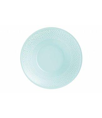 Luminarc Bulla - Dessertteller - 20cm - Blau - Glas - (6er Set)