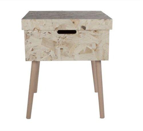 Cosy & Trendy Table D'appoint Boite Avec Couvercle H5142x42