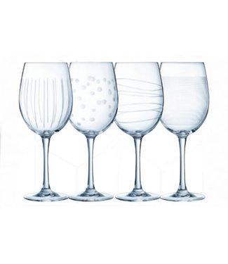 Eclat Illumination   Wijnglas 47 Cl Set 4 Ass.