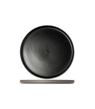 Cosy & Trendy 1350 Black Plate D28xh2cm (set of 4)