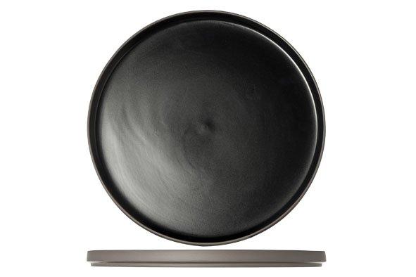 Cosy & Trendy 1350 Black Plat Bord D28xh2cm