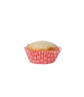 Cosy & Trendy Bakvormpje S60 Roze Zigzag - Dotsd11,5xh4cm Papier Col (set van 24)