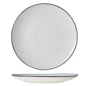 CT Tavola Gray Flat Plate D26cm