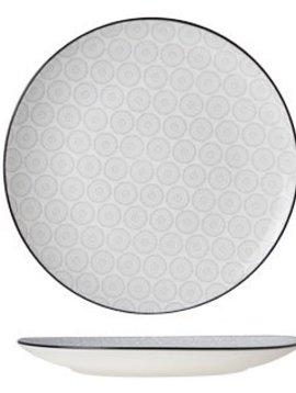 CT Tavola Gray Dessert plate D20cm set of 6