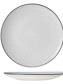 CT Tavola Grey Dessertbord D20cm set van 6
