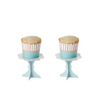 Cosy & Trendy Cake Cups S16 2 Ass Lign-green 5x4.5cm