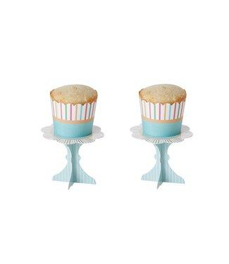 Cosy & Trendy Cake Vormen S16 2 Ass Streep-groen 5x4.5