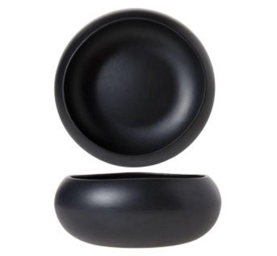Black Mat Bowl D16xh6.5cm