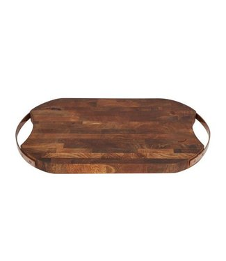 Cosy & Trendy Cutting Board Mango Wood Rt-round43.6x25x3cm