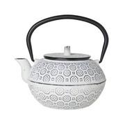 CT Takayama Teapot White 1.2l cast iron