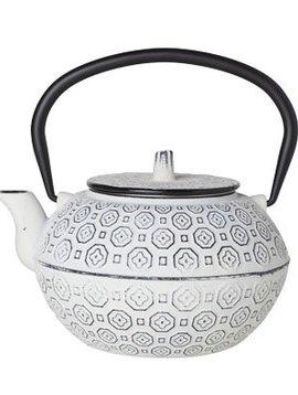 CT Takayama Teapot White 1.2l ghisa