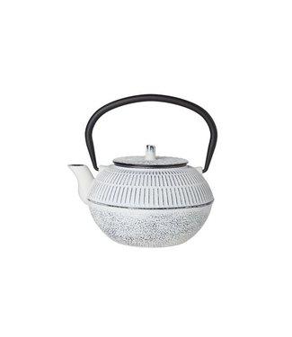 Cosy & Trendy Tetera Kinosaki de hierro fundido blanco de 1,2 l.