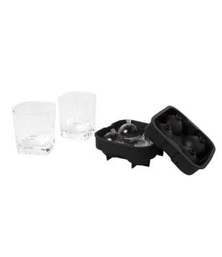 Cosy & Trendy Whiskeyglass Set3 D8,2xh8,6cmcolor Box