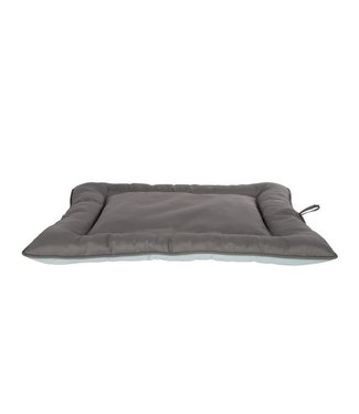 Cosy & Trendy Cool Pad Grided Oxford  Gray 75x65xh3cmblue-grey