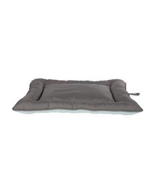 Cosy & Trendy Cool Pad Grided Oxford  Gray 60x41xh3cmblue-grey
