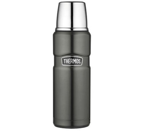 Thermos King Bouteille Isotherme 470 Ml Gris