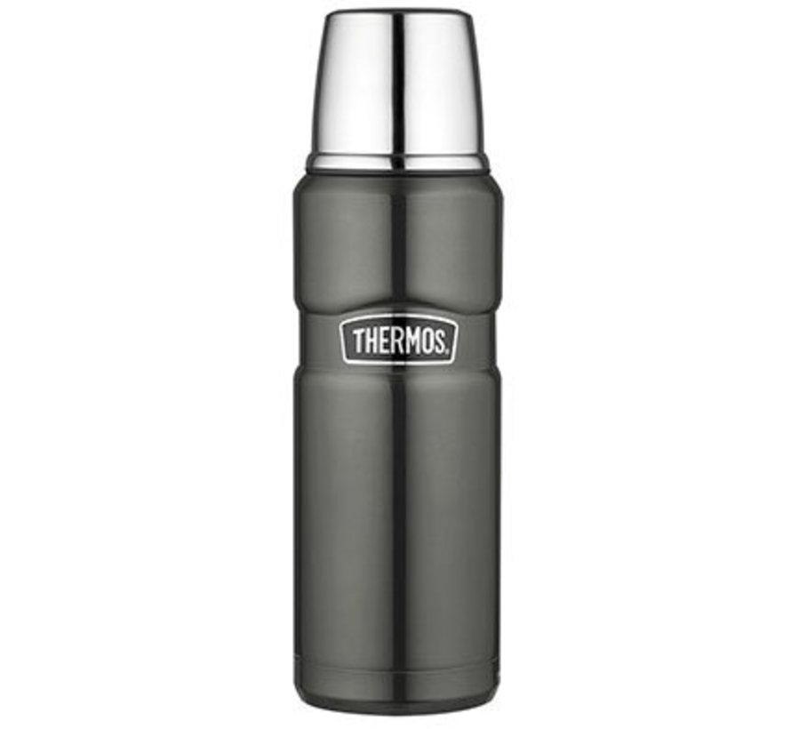 King Isolierflasche 470ml Space Grey